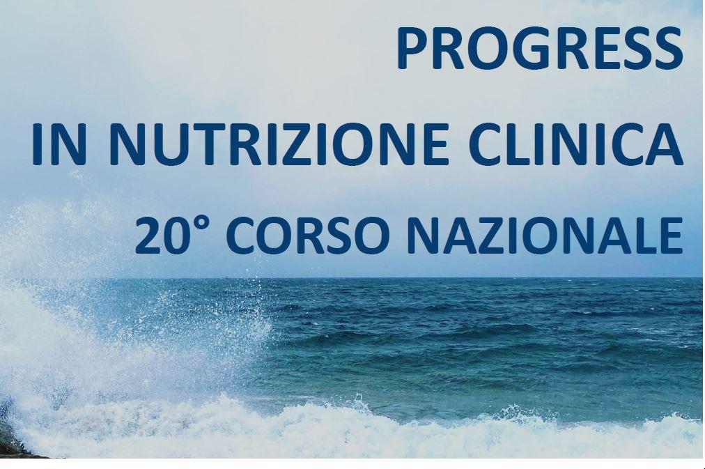 """Course Image 20° CORSO NAZIONALE """"PROGRESS IN NUTRIZIONE CLINICA"""""""